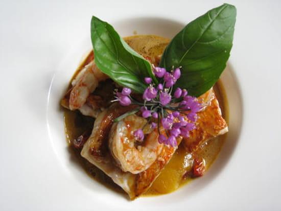 Auberge de la Pomme  - Mi-cuit de rougets et légumes provençaux -   © L'Internaute Magazine / Julie Gerbet