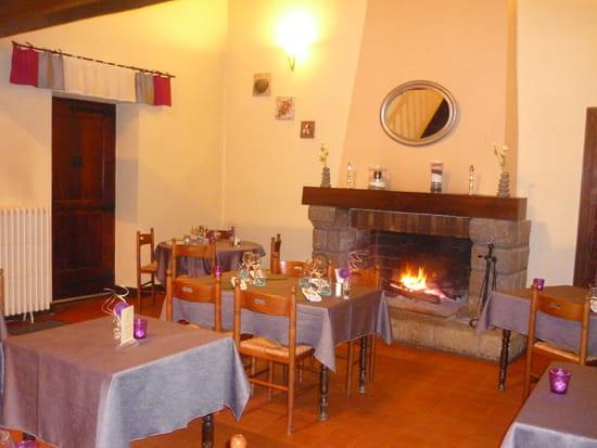 Auberge de la Roche  - au bord de la cheminée -