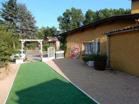 Auberge de la Vallée  Lozanne  - terrasse -