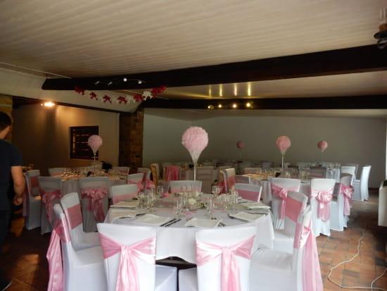 Auberge de la Vallée  Lozanne  - salle de mariage -