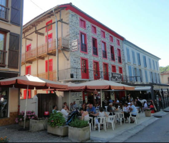 , Restaurant : Auberge du Haut Salat  - Façade -
