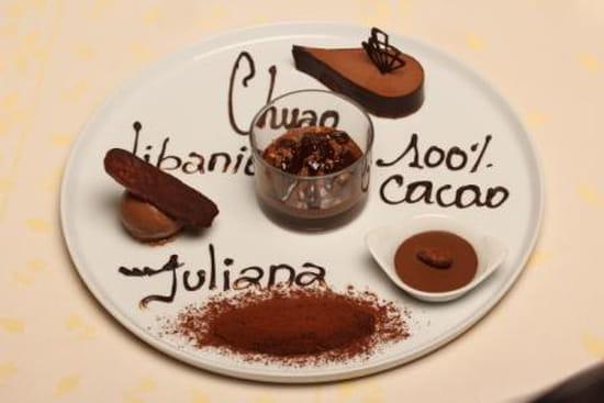 Auberge Napoleon  - Assiette chocolat grand cru Bonnat -   © auberge_napoleon