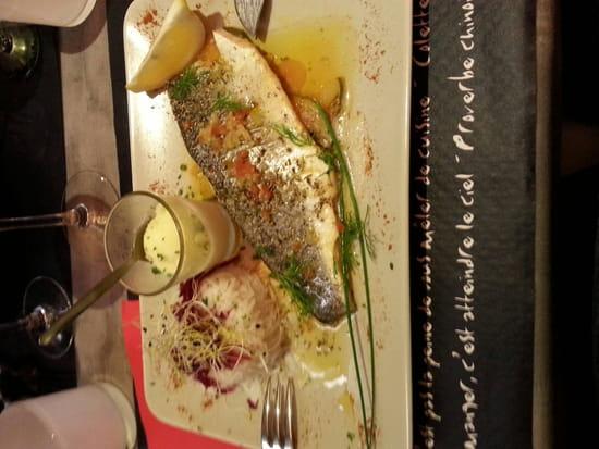 , Restaurant : Aux Piments Doux  - Excellent le bar  -