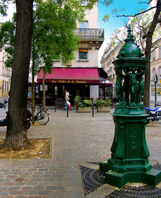 Aux tables de la fontaine brasserie bistrot paris avec linternaute - Les tables de la fontaine ...