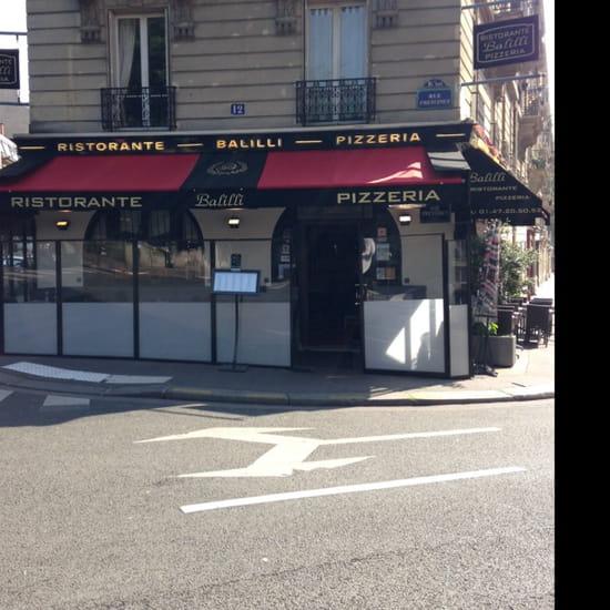 , Restaurant : Balilli