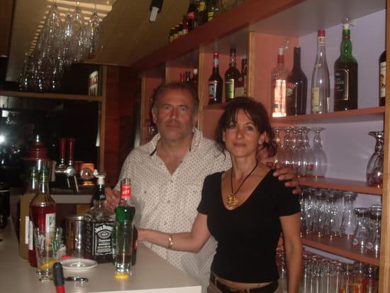 Bar la Pernière  - les propriétaires du bar -   © sandrine
