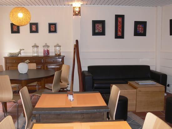 """Bilgola Café  - Le coin """"lounge"""" intérieur -"""