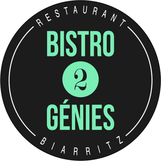 Bistro 2 Génies  - Logo Bistro 2 Génies -   © Bistro 2 Génies