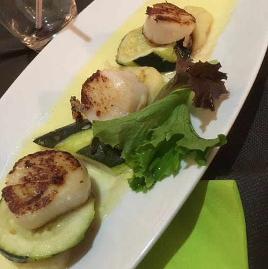 , Plat : Bistronomi'k  - Saint Jacques  -