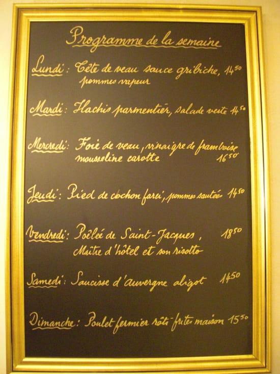 Bistrot d'I-D  - Le semainier -   © Quentin