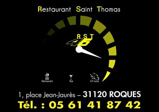 , Restaurant : Bistrot St. Thomas
