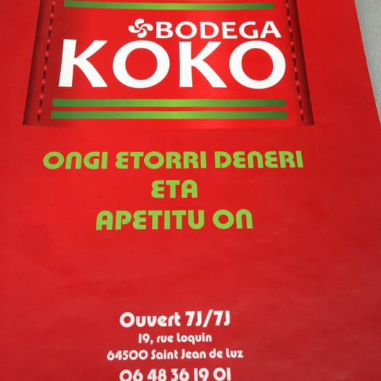 , Restaurant : Bodega koko