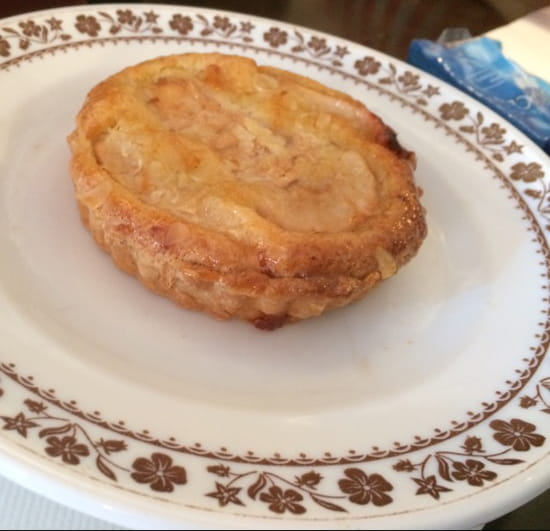 , Dessert : Brasserie de la Bourse  - Tarte aux poires -