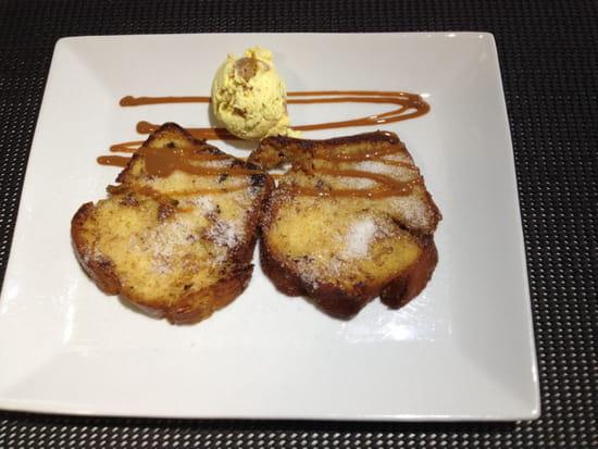 , Dessert : Brasserie La Plage  - Brioche de noel ... Hum!!! -