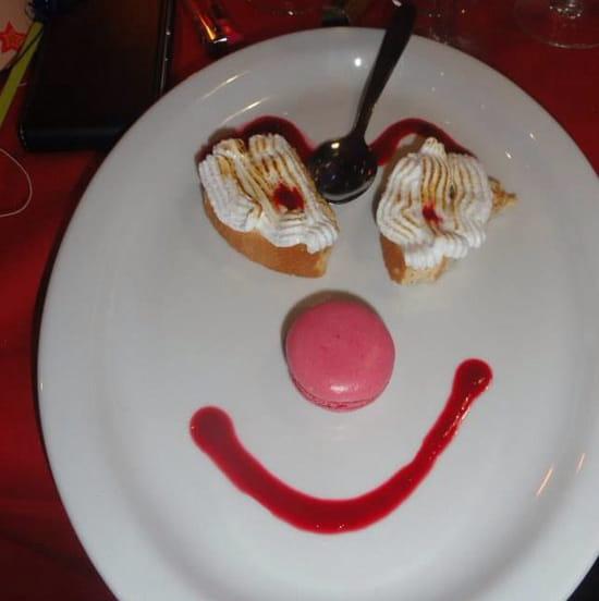 , Dessert : Brasserie La Plage  - Le sourire de fin de repas -