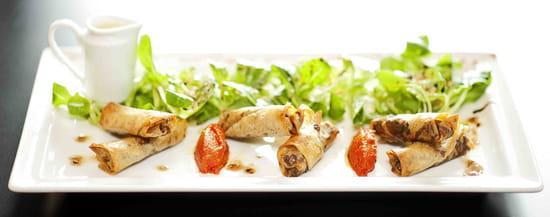 Brasserie Le Parvis  - nems aux champignons asiatiques -   © la Brasserie Le Parvis