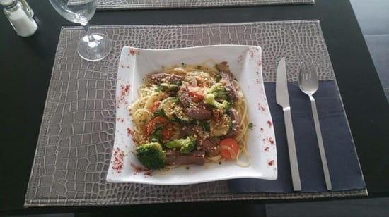 , Plat : Brasserie Lounge Le Melau