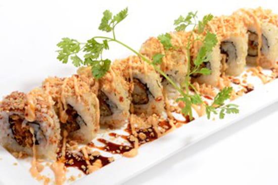 , Restaurant : C'Roll Sushi  - crunchy roll -