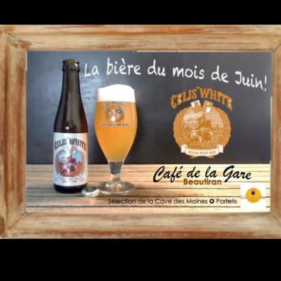 , Plat : Café de la Gare