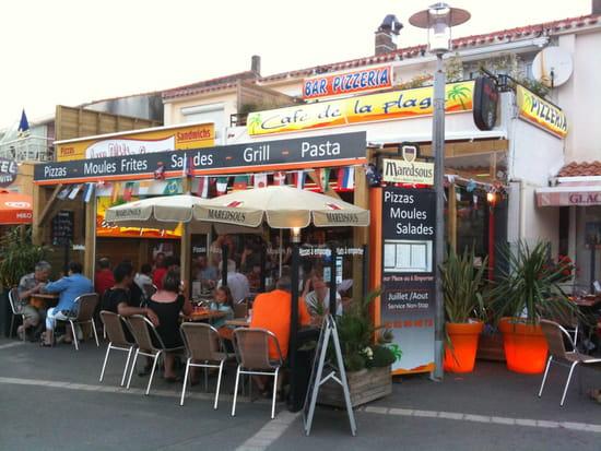 Café de la Plage  - Place de la Parée -