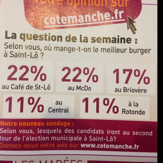 , Plat : Cafe De Saint Lo