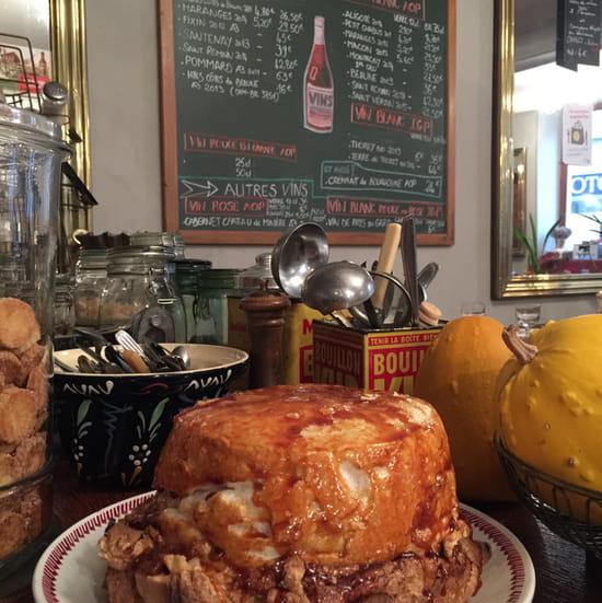 , Dessert : Café du Nord  - Île flottante. -