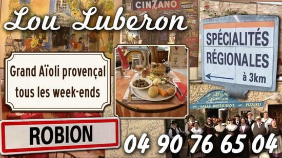 , Restaurant : Café restaurant Lou Luberon