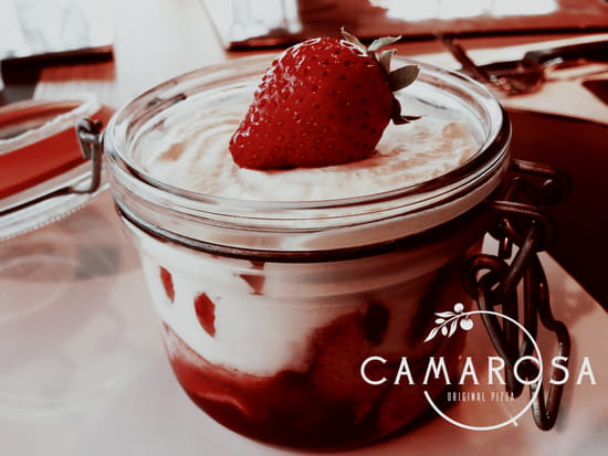 Camarosa Original Pizza  - Tiramisu Fragola - CAMAROSA Original Pizza -   © CAMAROSA Original Pizza