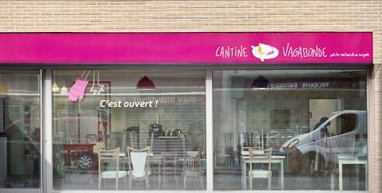 Cantine Vagabonde  - vitrine -   © stef