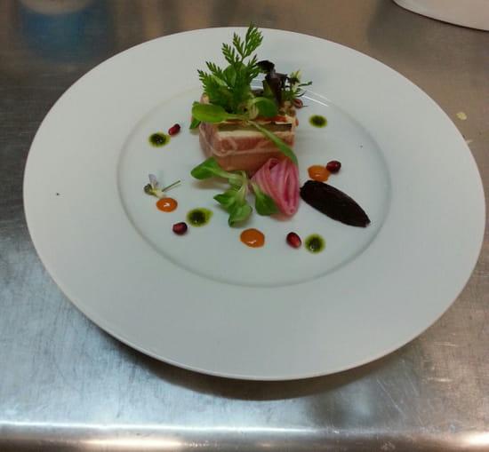 Carte Blanche  - Compression de légumes confits à l'huile d'olive et fromage frais -