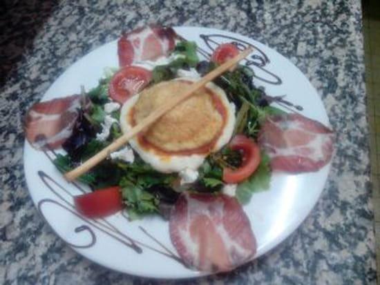 Casa Fiorino  - Salade de Mozzarella panée -   © Moi-même