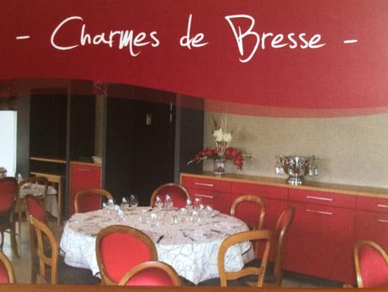 , Restaurant : Charmes de Bresse