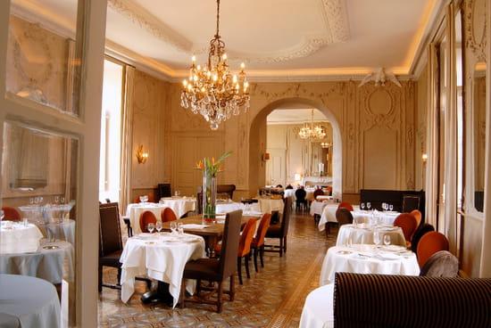 Château de Mercues  - Salle de restaurant du Château de Mercues -