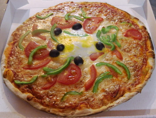 Chez Camembert Pizza