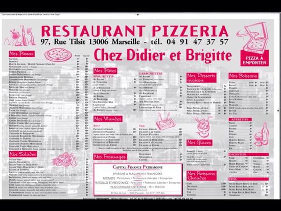 , Restaurant : Chez Didier et Brigitte