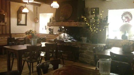 , Restaurant : Chez Franz  - Cheminée -
