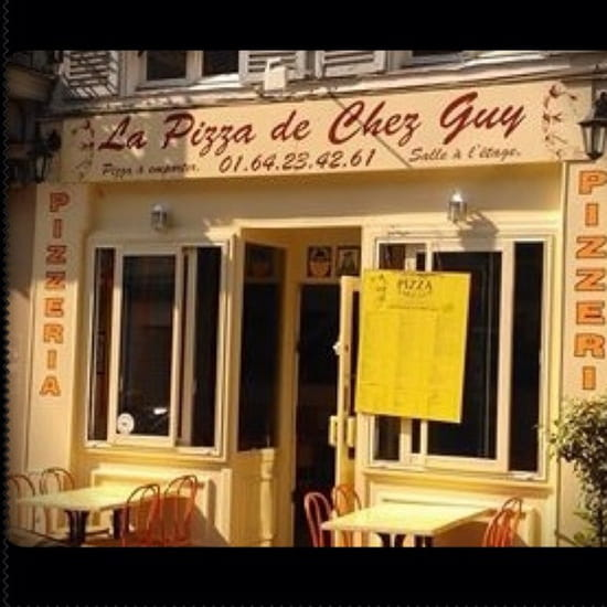 , Restaurant : Chez Guy  - La pizza de Chez Guy -