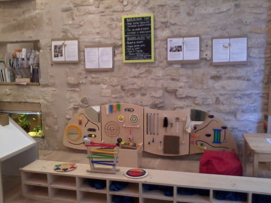 Chez Ninou! Le café des Bébés  - les anneaux de découverte sensorielle -