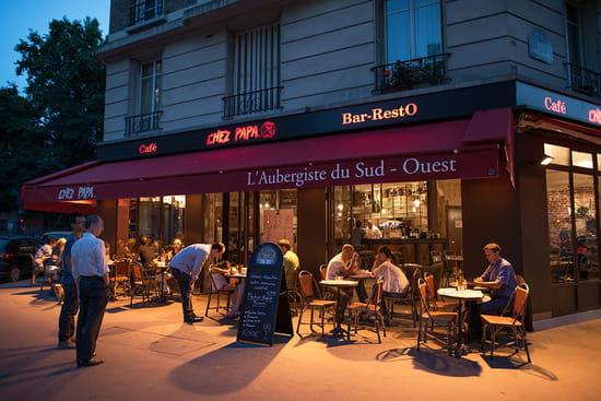 chez papa paris 15 restaurant du sud ouest paris avec linternaute. Black Bedroom Furniture Sets. Home Design Ideas