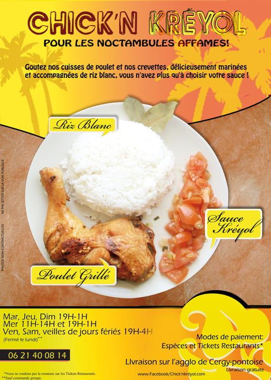 Chick'N Kréyol (Chicken Kréyol)