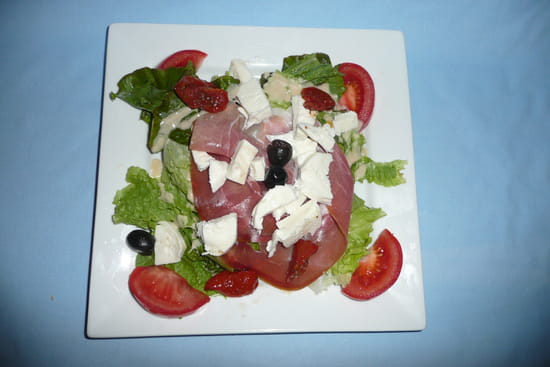 Crêperie Bleu de Toi  - Salade italienne -