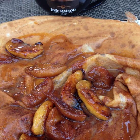 , Dessert : Crêperie du Hameau  - Crêpe Gravel . Excellent -