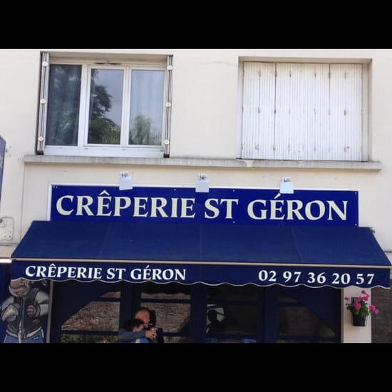 , Restaurant : Crêperie Saint Géron