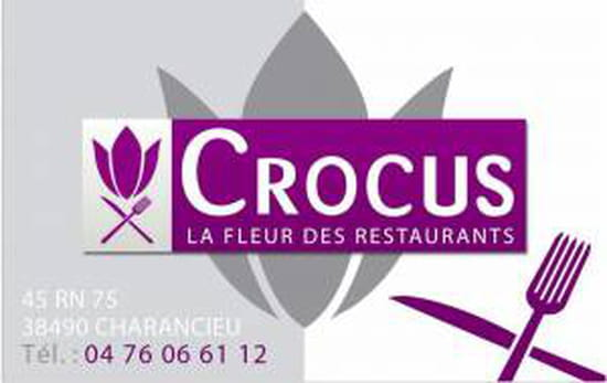 , Restaurant : Crocus  - Carte restaurant  -