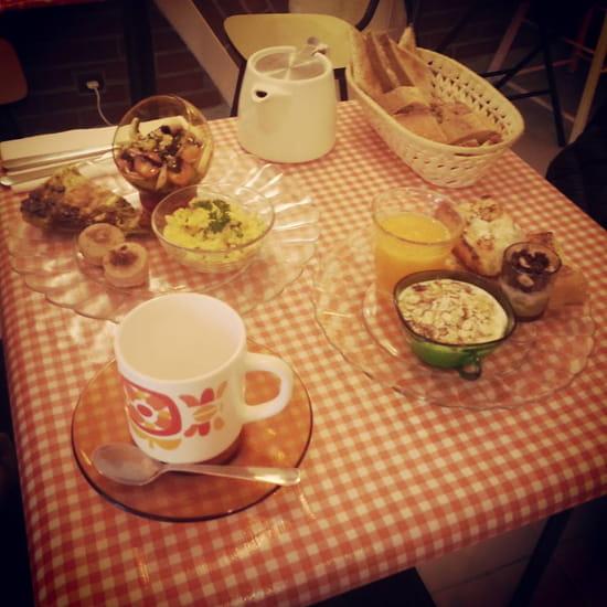 Cuisine & gourmandises  - un de nos brunchs -   © CMV