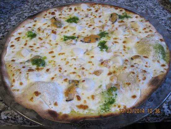 Cybierepizza chez Tetin  - Pizza Saint Jacques -