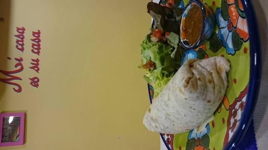 , Plat : El Pueblo  - Burrito  -