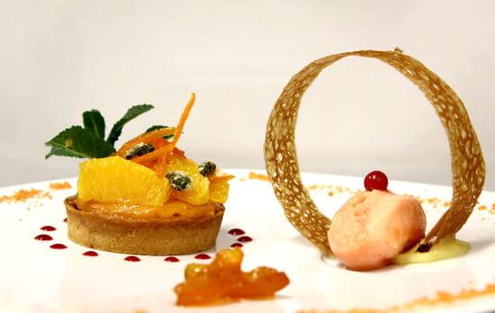 Hostellerie de la Mer  - Dessert du Jour -   © Aurelie Frappier