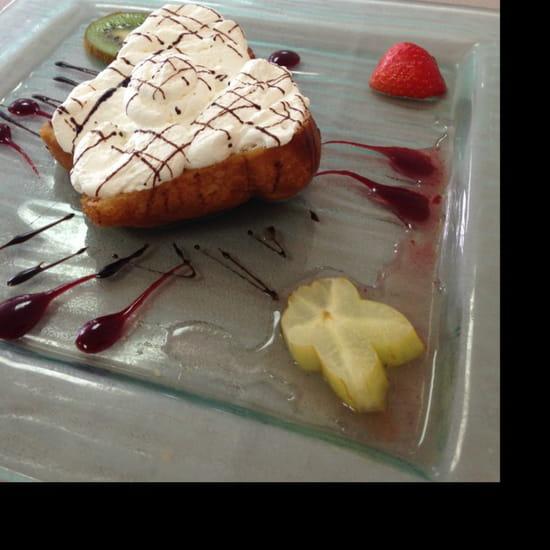 , Dessert : Hostellerie du Cheval Blanc  - Baba -