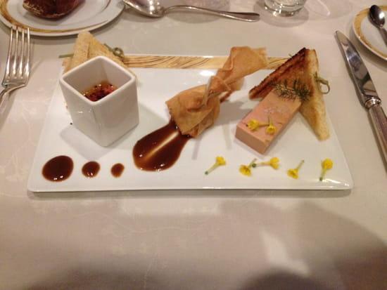 , Entrée : Hôtel de France  - Déclinaison de foie gras de canard -